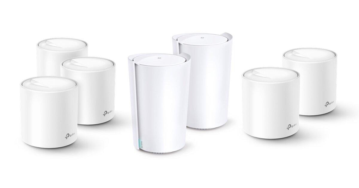 Деко-X серија на ТП-врска со Wi-Fi 6