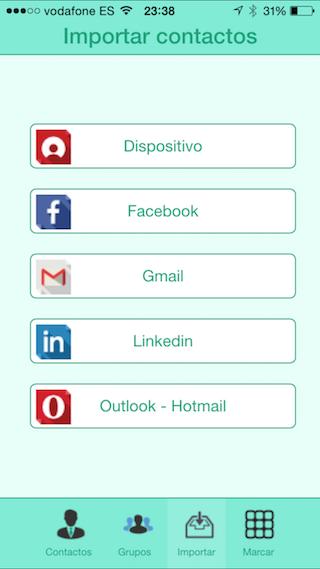 Kangoosave, il libro di contatti intelligente per iPhone e iPad 3