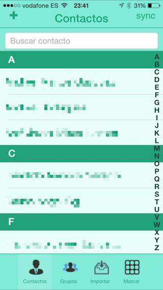 Kangoosave, il libro di contatti intelligente per iPhone e iPad 4