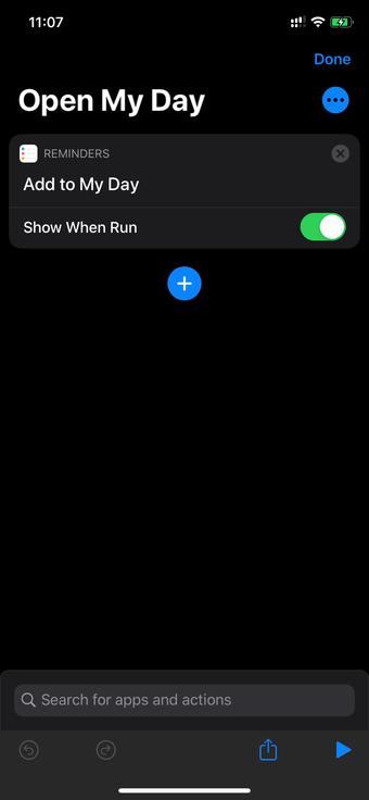 Siri-pikakuvakkeet
