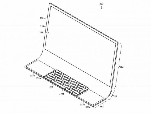 Apple Berlaku untuk Paten pada iMac yang Dibangun pada Lembar Kaca yang Melengkung 2