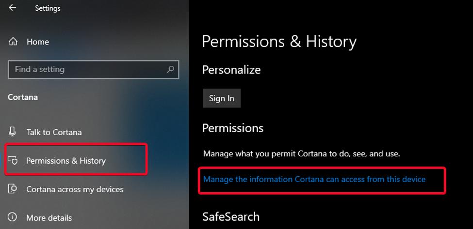 Cortana 4