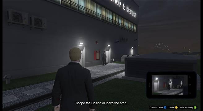 GTA Online: Semua Lokasi Titik Akses di Misi Diamond Casino Heist Scope Out 7