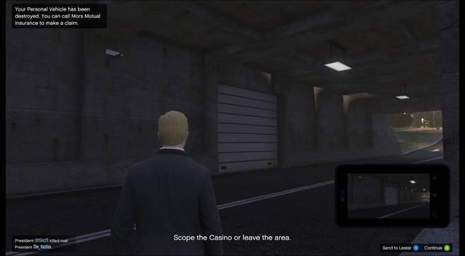 GTA Online: Semua Lokasi Titik Akses di Misi Diamond Casino Heist Scope Out 10
