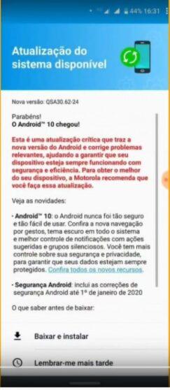 Андроид 10 наскоро доаѓа за Motorola One Vision. 1