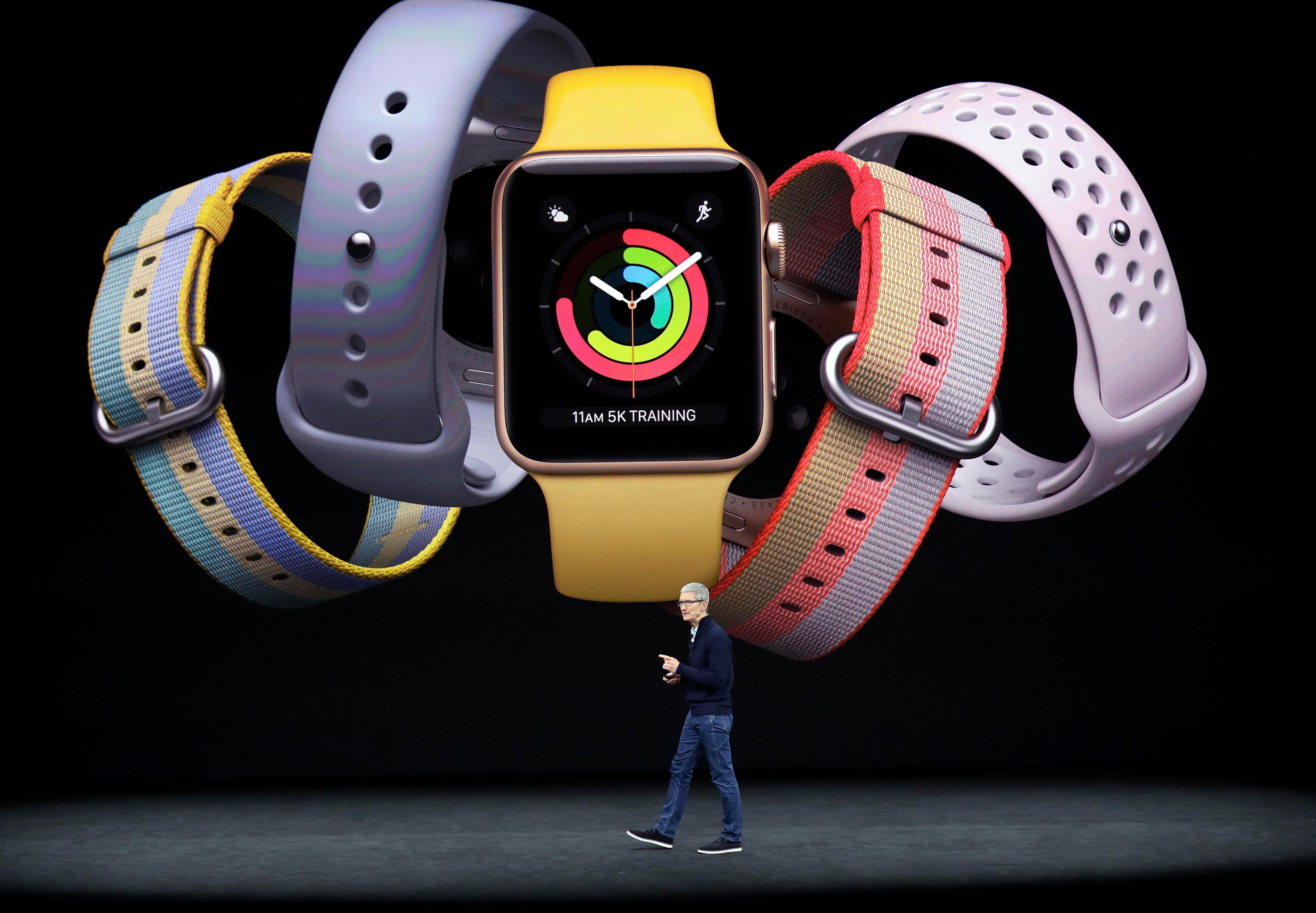 Nové hodinky prídu v piatich rôznych farbách.