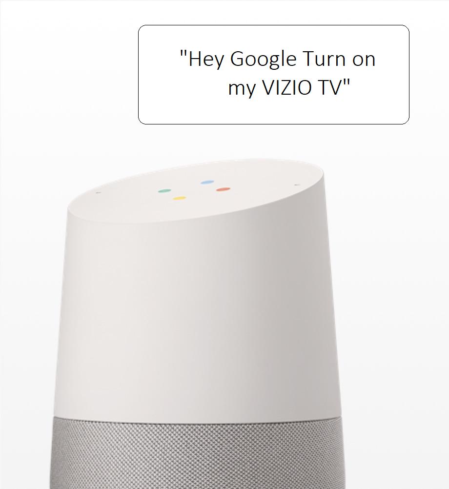 VIZIO TV Google Home