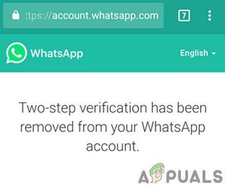 Ako obnoviť zabudnutý kód WhatsApp PIN? 2