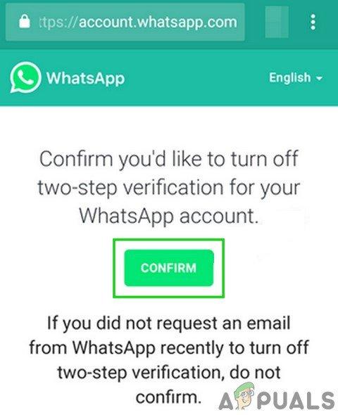 Ako obnoviť zabudnutý kód WhatsApp PIN? 7