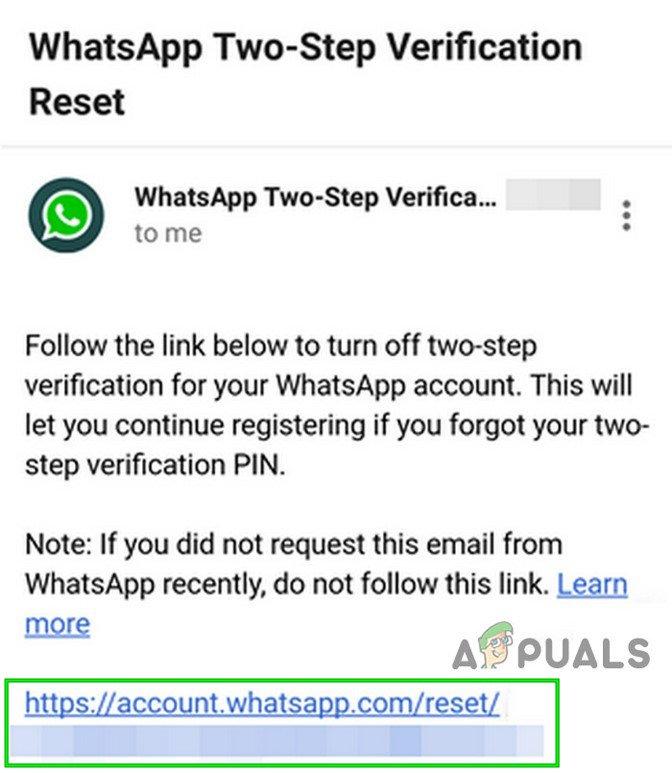 Ako obnoviť zabudnutý kód WhatsApp PIN? 6