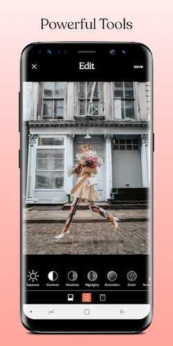 Tezza, danışacaq olan Android foto redaktoru 3