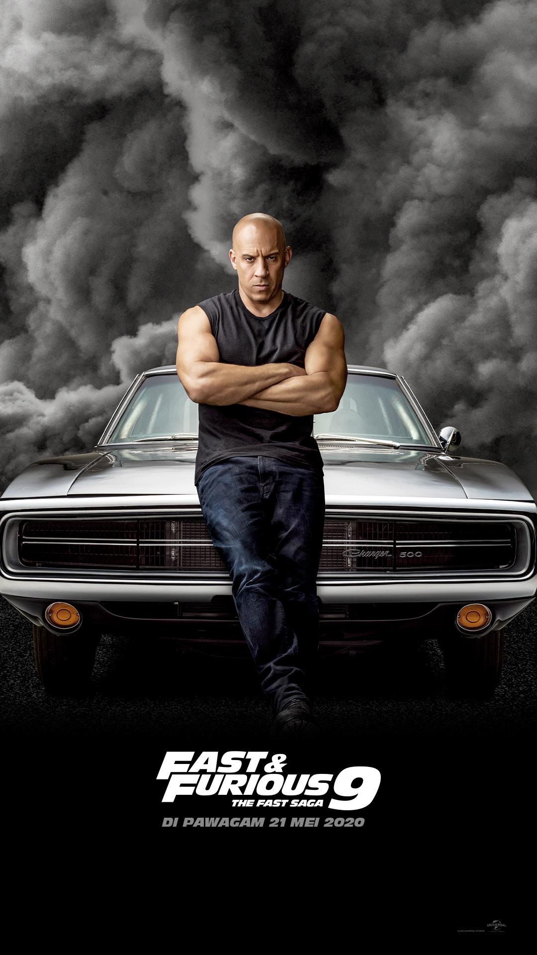 Lihat Poster Karakter Baru Yang Keren Untuk Fast & Furious 9 3
