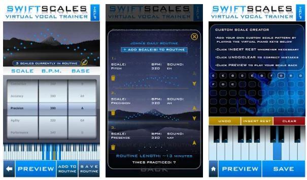 SWIFTSCALES - Lauluvalmentaja