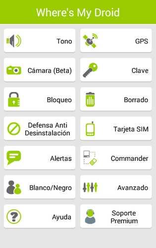 Android telefon tapan, itirilmiş və ya oğurlanmış 1