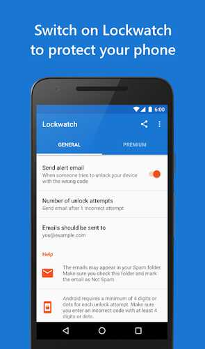 Android telefon tapan, itirilmiş və ya oğurlanmış 3