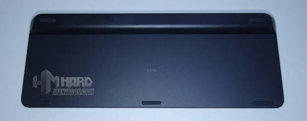 Logitech Wireless Keyboard Bottom