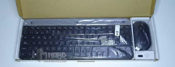 logitech-dən klaviatura və siçan çıxarın