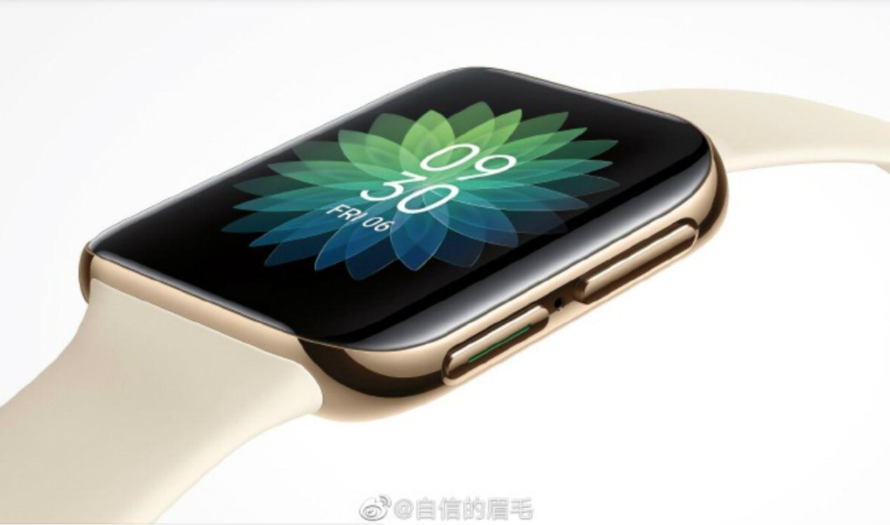 El primer reloj inteligente de OPPO será muy similar a Apple Watch, reveló la imagen oficial 2