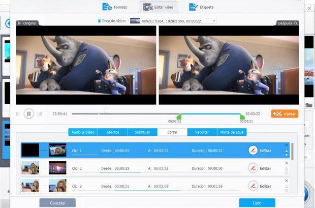 Уредување на видео со VideoProc /