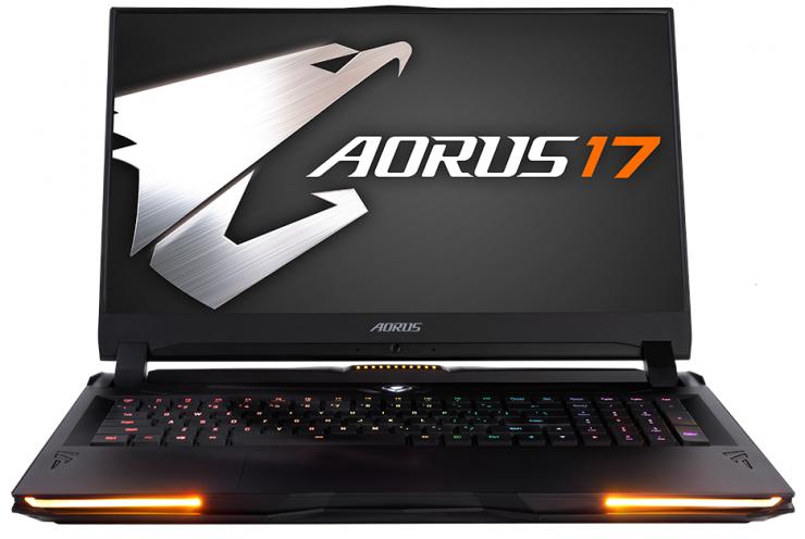 """17,3 """"@ Hz: n kannettava tietokone 240 Hz: lla mekaanisella OMRON-näppäimistöllä"""