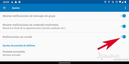 Səssiz avtomatik Android
