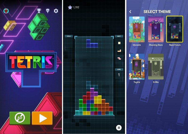rəsmi tetris