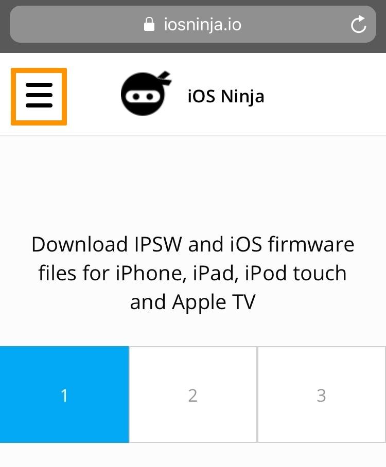 Cómo usar iOS Ninja para instalar jailbreak que nunca se ha hecho sin una computadora 3