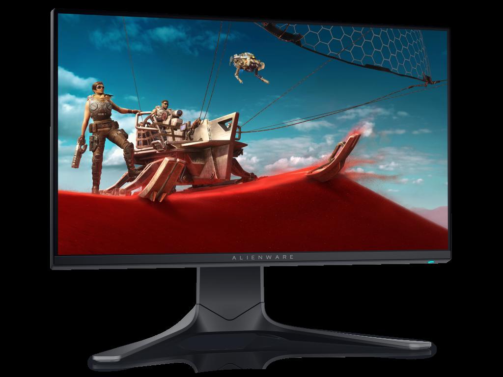 Màn hình chơi game Alienware có 240 Hz với thời gian đáp ứng 1 ms