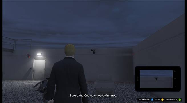 GTA Online: Semua Lokasi Titik Akses di Misi Diamond Casino Heist Scope Out 1