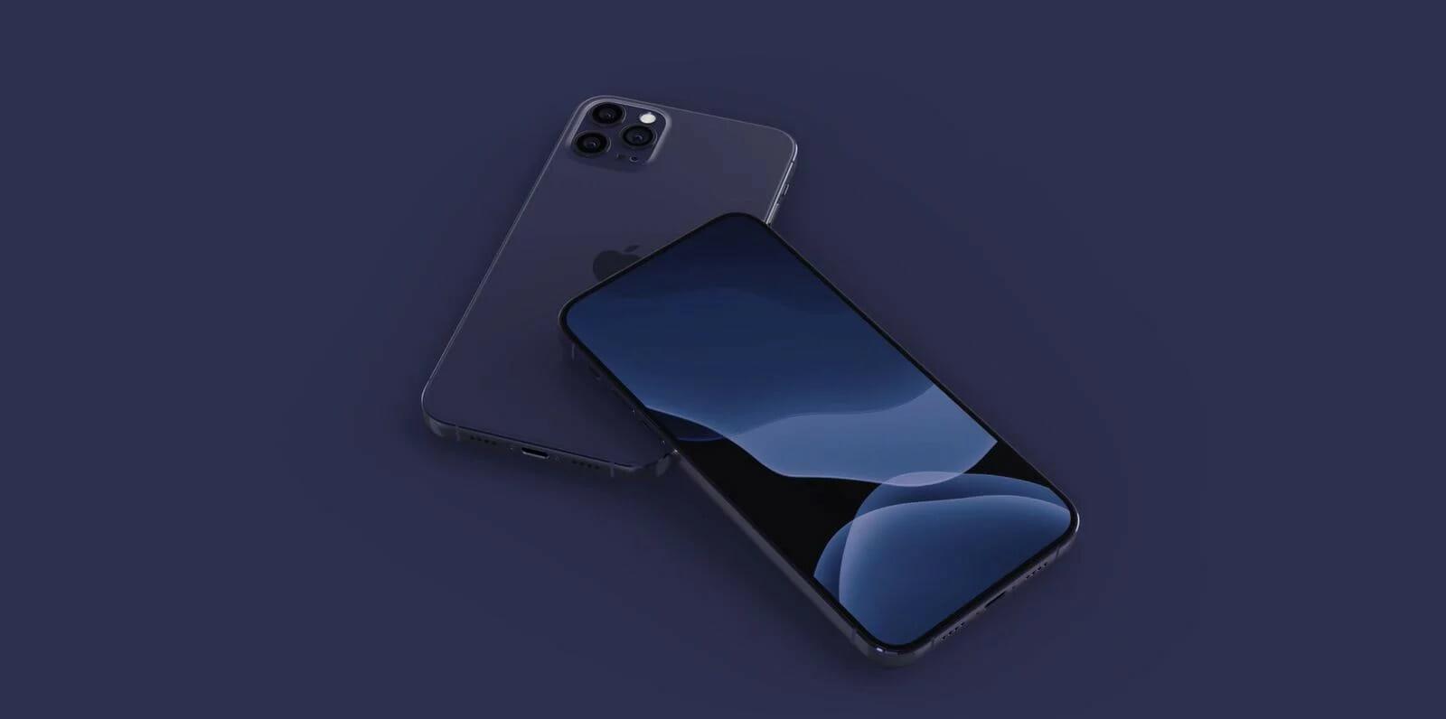 IPhone 2020 akan tersedia dalam warna biru tua 1
