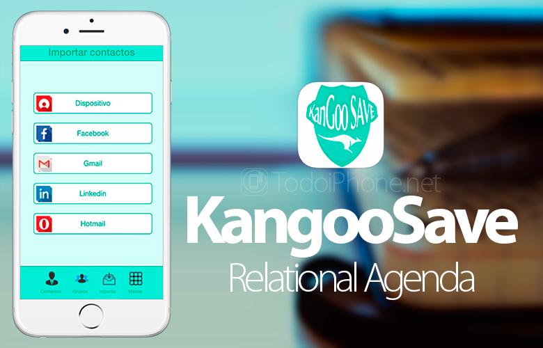 Kangoosave, il libro di contatti intelligente per iPhone e iPad 2