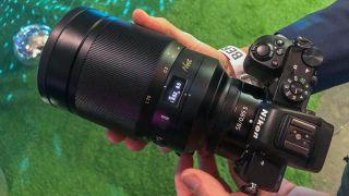 Nikon Nikkor Z 58mm f / 0.95 S Noct birbaşa baxış