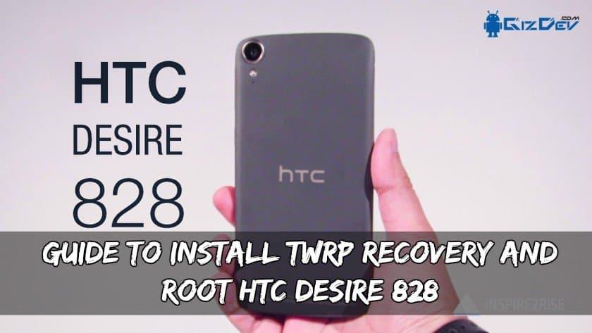 HTC Desire 828 TWRP Recovery və Kökü quraşdırmaq üçün təlimat