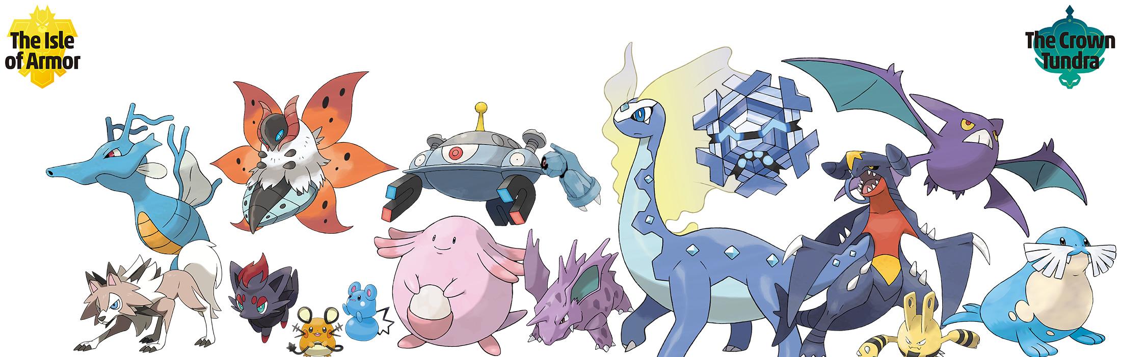 Pokemon Sword & DLC Shield Список на повратни Pokemon: секој национален dex Одг што се враќа во експанзија 2
