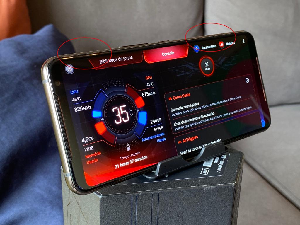 AirTriggers е копче со притискање и додава копче за активирање во играта