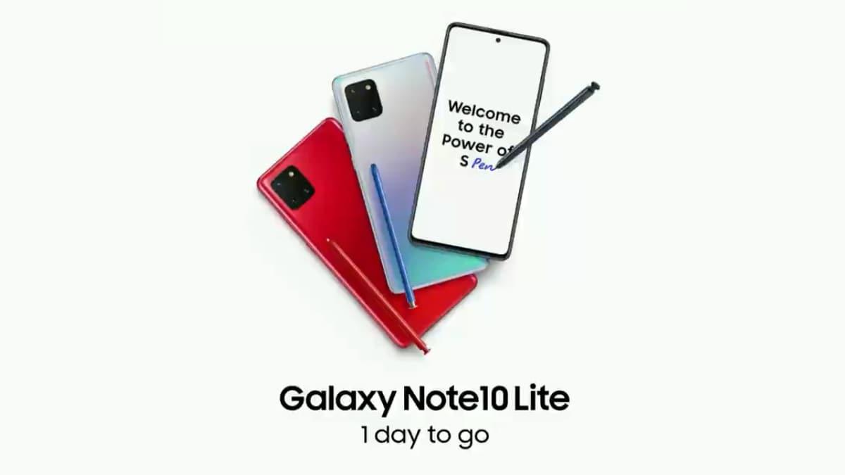 Samsung Galaxy Note 10 Lite ќе биде лансиран утре во Индија: Очекувани цени, спецификации