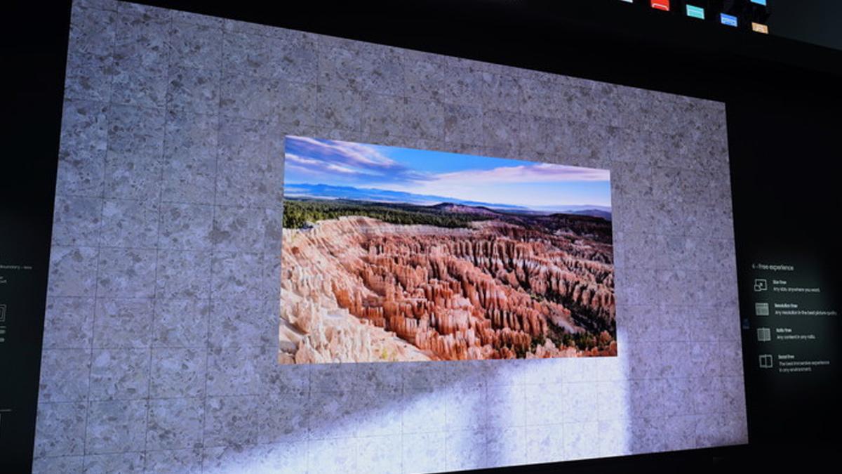 Samsung akan mengeluarkan TV nirkabelnya yang benar tahun depan 1