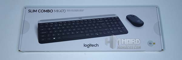 Logitech MK470 Combo ön panel və klaviatura
