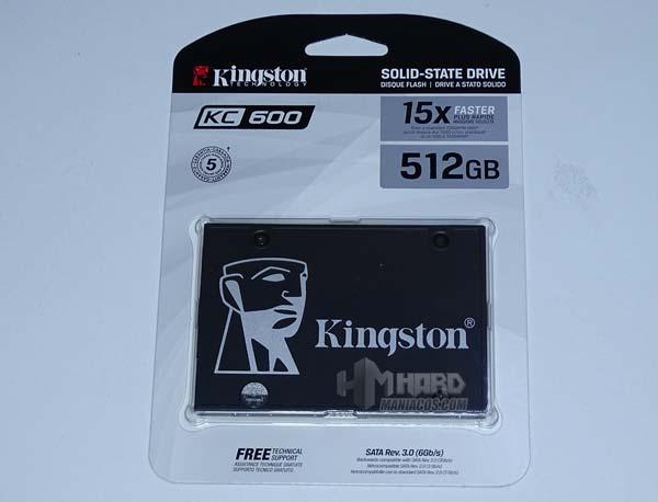 Kingston KC600 SSD arvostelu 1