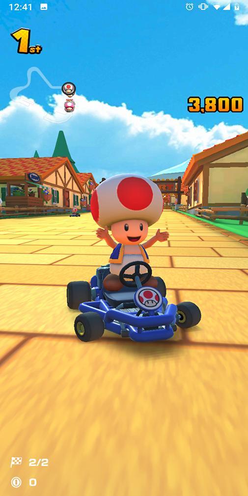 Mario Kart Turunun rəyləri -