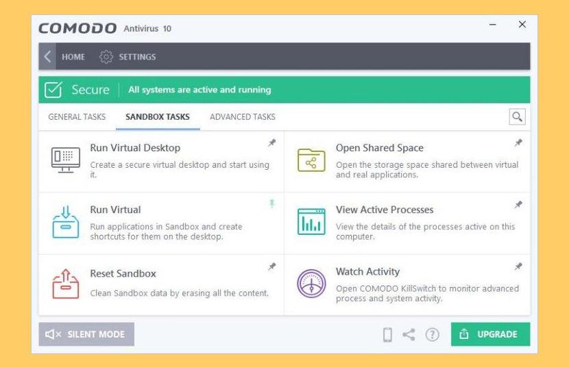Unduh Comodo Internet Security 2020 Dan Comodo Antivirus 1