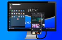 Həftəlik Android tətbiqi - Flow Desktop ekranı