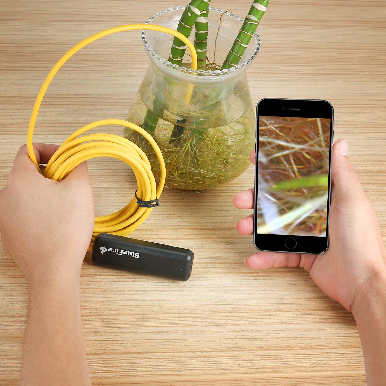 BlueFire Semi-Rigid Flexible Wireless Endoscope