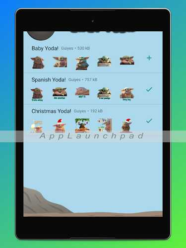 4 aplikasi Android terbaik tentang Baby Yoda (wallpaper, stiker, dan pewarnaan) 1