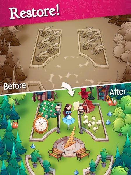 Алис се враќа во земјата на чудата во легендите на Алис, достапна сега на iOS, Android 2