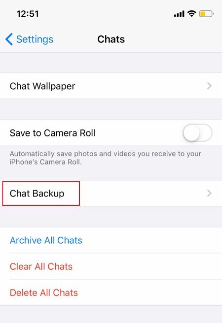 Whatsapp Backup Ios Backup