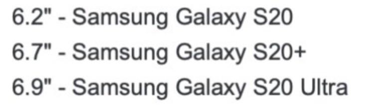 Samsung Galaxy Fecha de lanzamiento del S20, noticias, especificaciones y fugas 3