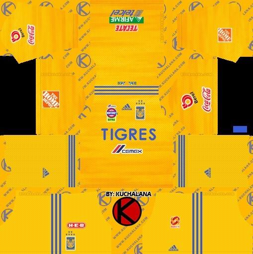 Kit rumah UANL Tigers