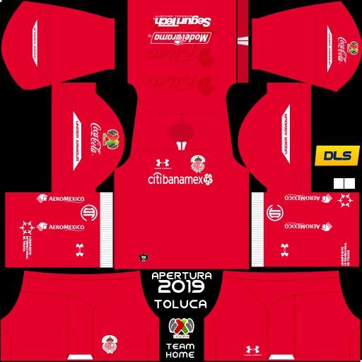 Kit Rumah Deportivo Toluca