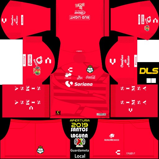 Kit penjaga gawang Club Santos Laguna